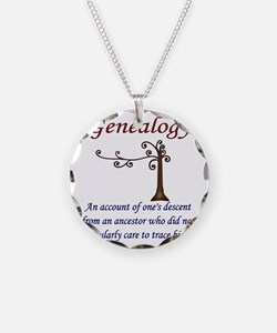 GENEALOGYanacount2 Necklace