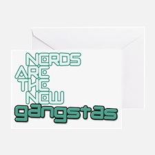 +nerdgangstBD Greeting Card