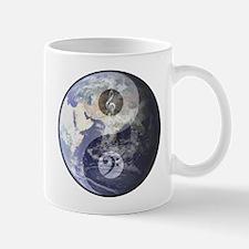 Gino Foti Yin Yang Earth W/Music Clefs Coffee Mug