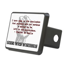 Degaulle-quote Hitch Cover