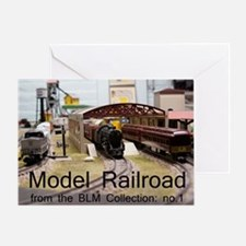 Cal2_CoverModel_Trains_0097_BLMcolle Greeting Card
