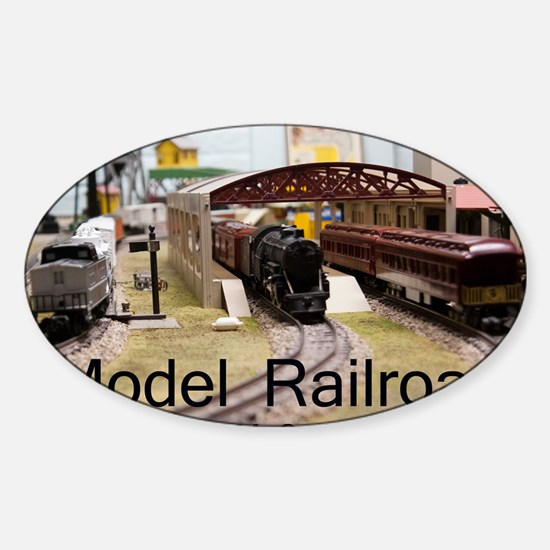 Cal2_CoverModel_Trains_0097_BLMcoll Sticker (Oval)