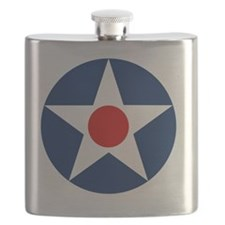 United States Army Air Corp Roundel 1926 Flask