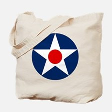 United States Army Air Corp Roundel 1926 Tote Bag