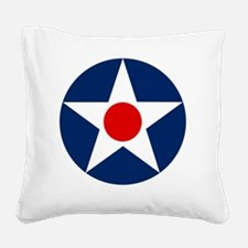 United States Army Air Corp R Square Canvas Pillow