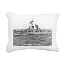 decatur dd greeting card Rectangular Canvas Pillow
