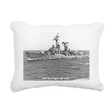 decatur dd note card Rectangular Canvas Pillow