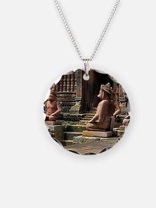 Banteay Srei temple guardian Necklace