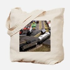 Cal3_Jan_Model_Trains_0100 Tote Bag
