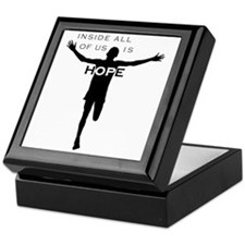John-cafepress black-B Keepsake Box