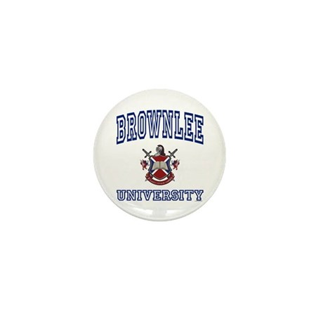 BROWNLEE University Mini Button (10 pack)