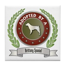 Brittany Adopted Tile Coaster