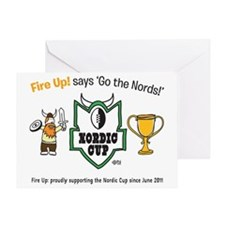 Nordic Cup Greeting Card