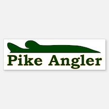 Pike Angler 3 Sticker (Bumper)