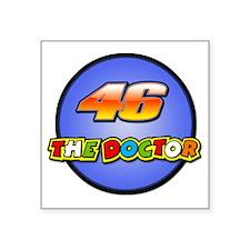 """Valentino Rossi Square Sticker 3"""" x 3"""""""