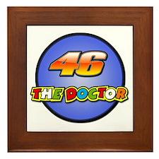 Valentino Rossi Framed Tile