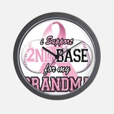 I Support 2nd Base for my Grandma Wall Clock