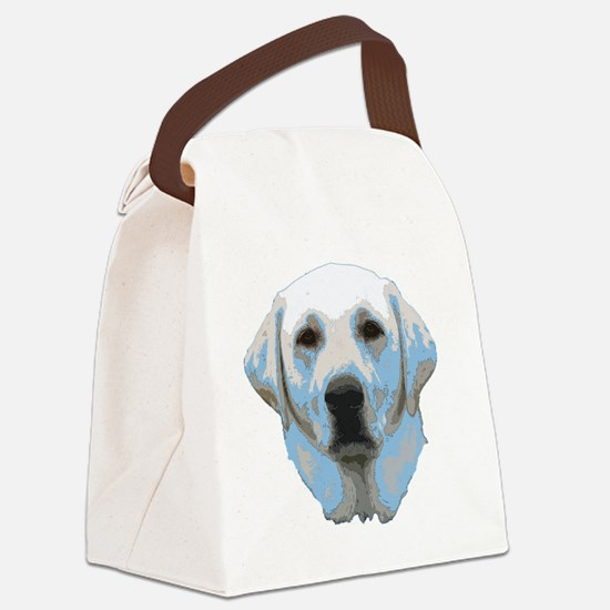 lab portrait Canvas Lunch Bag