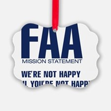 FAA-MissionStatement Ornament