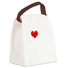 I-Love-My-Xolo-dark Canvas Lunch Bag