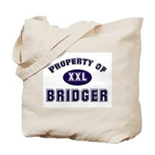 Property of bridger Tote Bag