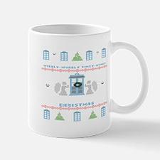 Wibbly-Wobbly Timey Wimey Christmas Mugs