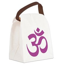 om Canvas Lunch Bag