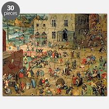 Bruegel Childrens Games Puzzle