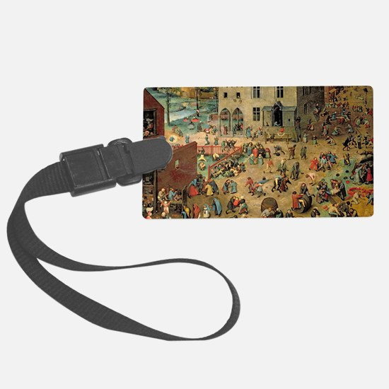 Bruegel Childrens Games Luggage Tag