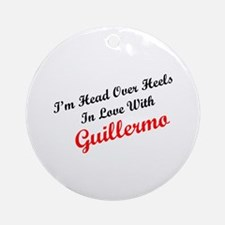 In Love with Guillermo Ornament (Round)
