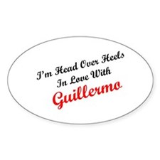 In Love with Guillermo Oval Decal