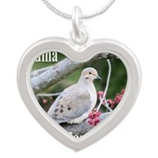 BDDV5x7SF Silver Heart Necklace