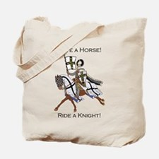 Ride a Teutonic Knight Tote Bag