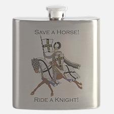 Ride a Teutonic Knight Flask