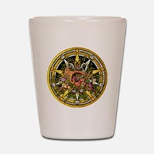 Mabon Pentacle Shot Glass