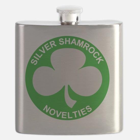 Silver-Shamrock-Novelties-No-Border Flask