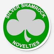 Silver-Shamrock-Novelties-No-Bord Round Car Magnet