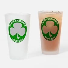 Silver-Shamrock-Novelties-No-Border Drinking Glass