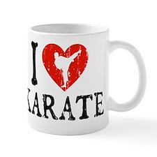 I Love Karate Small Mugs