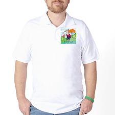 bird and pup-rayna T-Shirt
