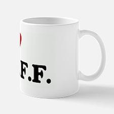 I Love MY  B.F.F. Mug