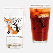 foxtrottshirtLG Drinking Glass