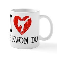 I Love Tae Kwon Do Mug