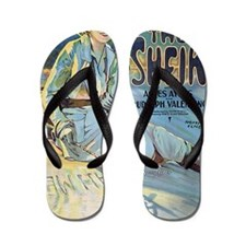 The_Sheik_with_Agnes_Ayres_and_Rudolph_ Flip Flops