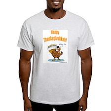 Happy Thanksgivukkah Turkey T-Shirt
