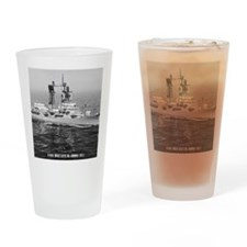 decatur ddg note cards Drinking Glass