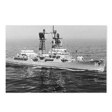 decatur ddg note cards Postcards (Package of 8)