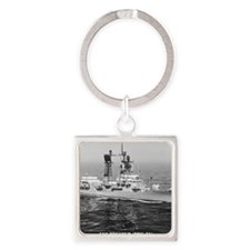decatur ddg note cards Square Keychain