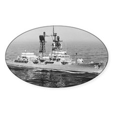 decatur ddg postcard Decal