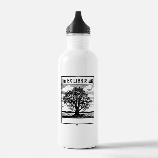 Ex Libris Tree Water Bottle